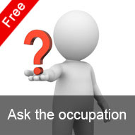 Ask the occupation