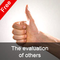 The evaluation of others